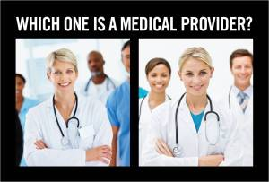 Which one is a medical provider?